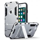 Apple iPhone 7 - Armour Case Med Kickstand - Silver thumbnail