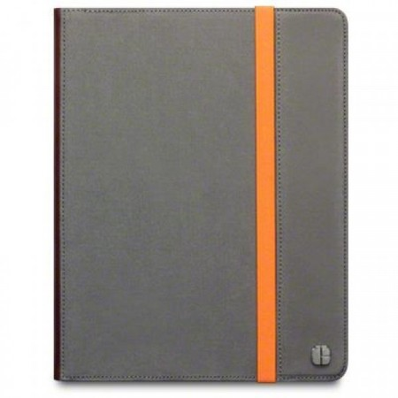 Apple  iPad 2 Cover i Canvas designet av Covert - Grå /Oransje