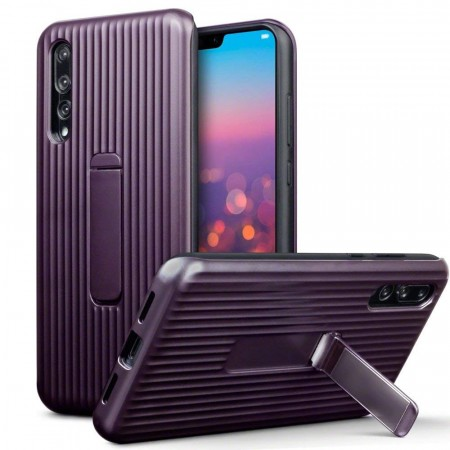 Huawei P20 PRO-  Armour Deksel med Kickstand- Lilla