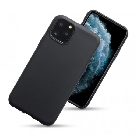 Apple iPhone 11 PRO - TPU/Silikon Deksel  - Black Matte
