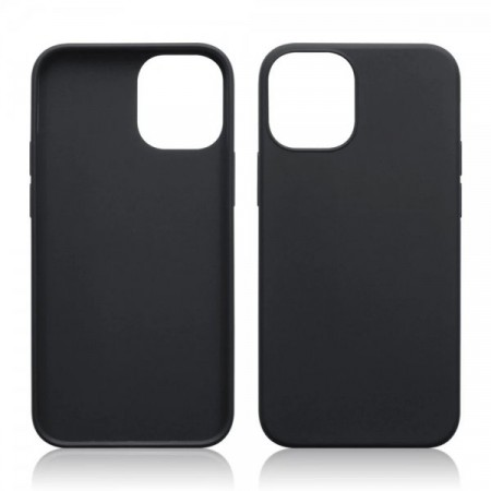 Apple iPhone 12 Mini - Slank Design TPU/ Silikon Deksel - Matt Svart