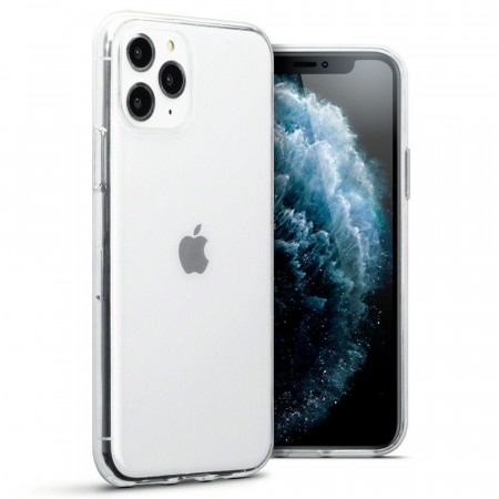 Apple iPhone 11 PRO - Helt Gjennomsiktig Silikon Deksel-Transparent