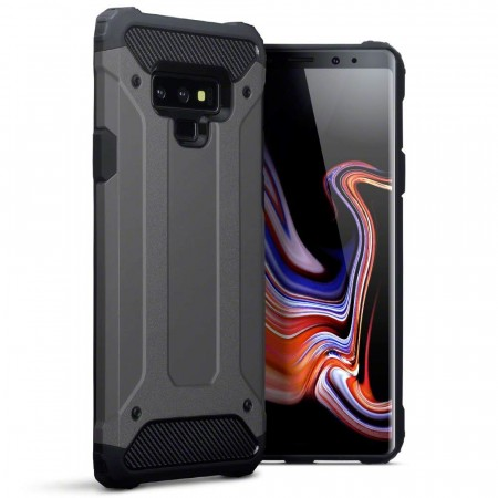 Samsung Galaxy Note 9- Dobble Layer Impact Case- Gunmetal