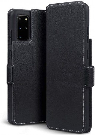 Samsung Galaxy S20 Plus - Super Slank Folio Design Lommebok - Svart
