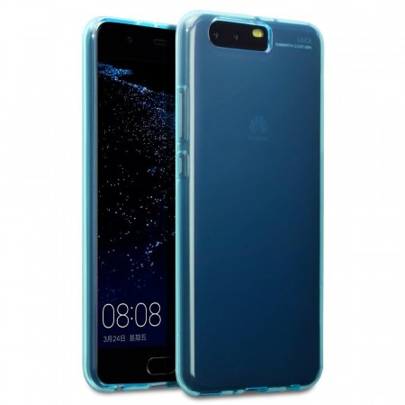 Huawei P10 PLUS Slank Design TPU Gel Cover - Blue