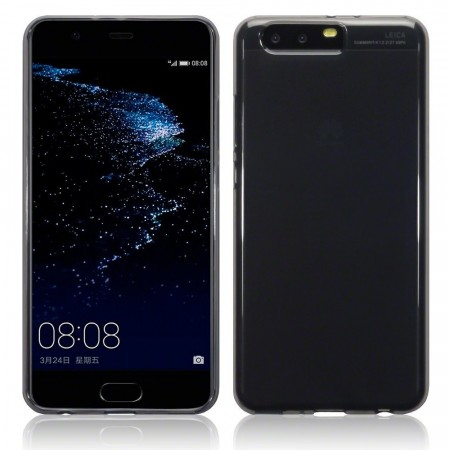 Huawei P10 PLUS - TPU Gel Cover - Smoke Black